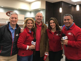 NBC 10 Morning News Team:Wawa Helps FACES 4 Autism